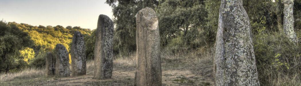 I menhir di Biru 'e concas: un'opera originale